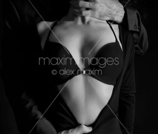 Photo Of Beautiful Sensual Portrait Of A Couple Black And White
