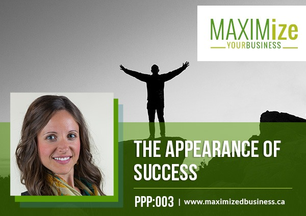 appearance of success andrea maxim