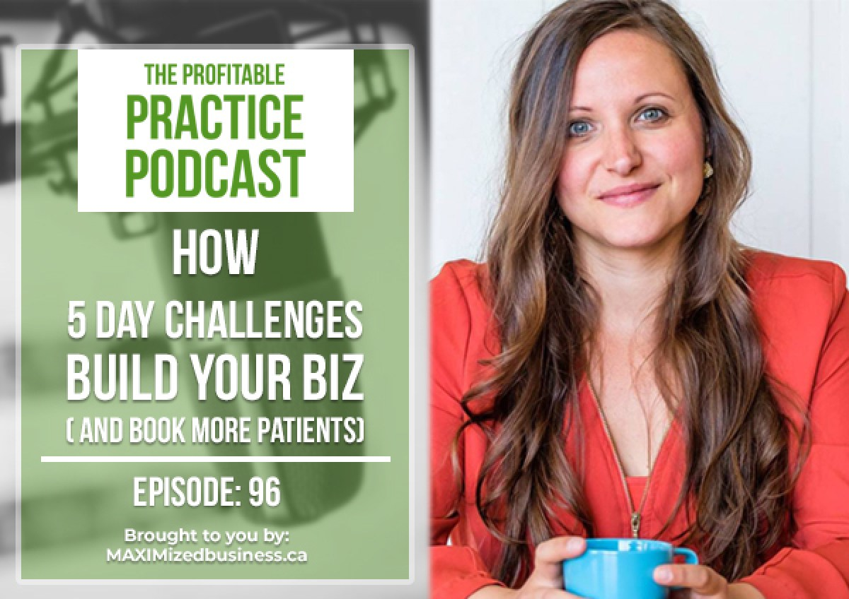 How 5-Day Challenges Build Your Biz (And Book More Patients): Interview with Zach Spuckler [PPP #096]