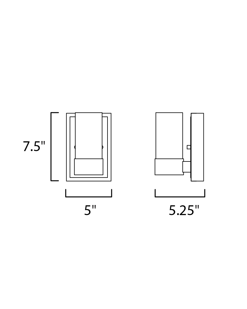 Sync 1-Light LED Wall Sconce