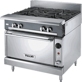 vulcan kitchen touch faucets usa maxim pakistan v4b36s 4 burner cooking range