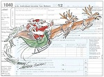 HOLIDAY SEASON TAX MARKETING POSTCARDS