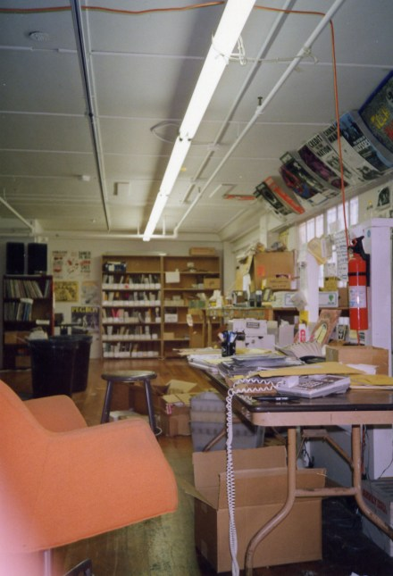Epicenter office, 1992 (photo by Helge)