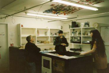 Tim Yohannan at Epicenter SF, 1992 (photo by Helge Schreiber)