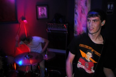 Jacob Allen Cook and Max Feldman of Trapper (photo by Will Butler)