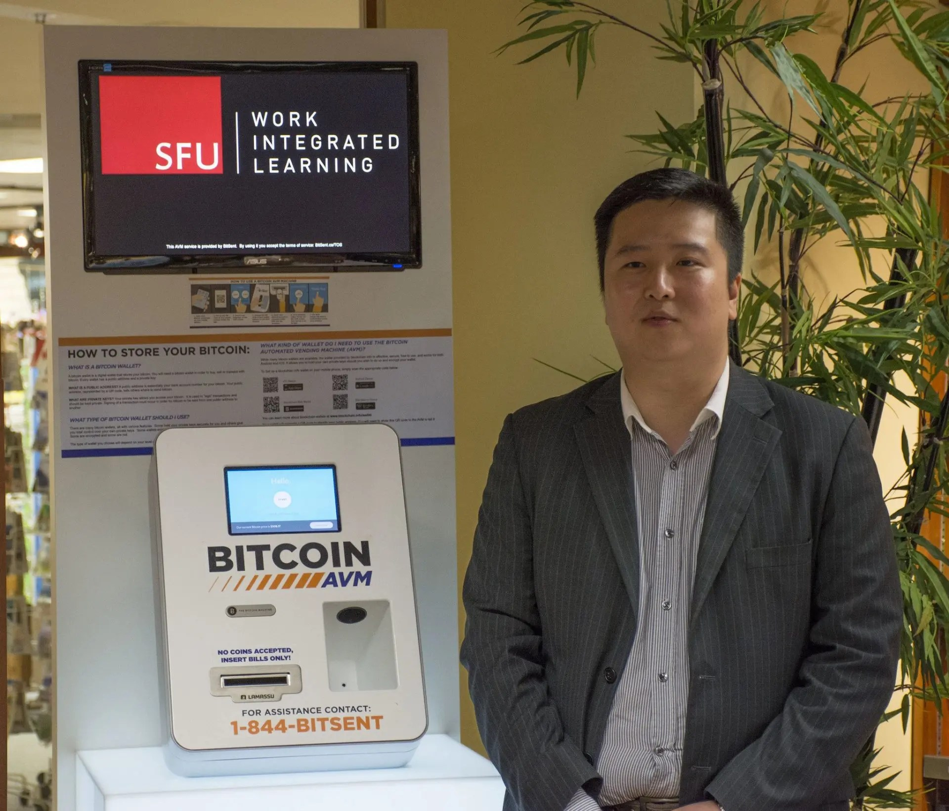 Michael Yeung, Founder and President of the Simon Fraser Bitcoin Club