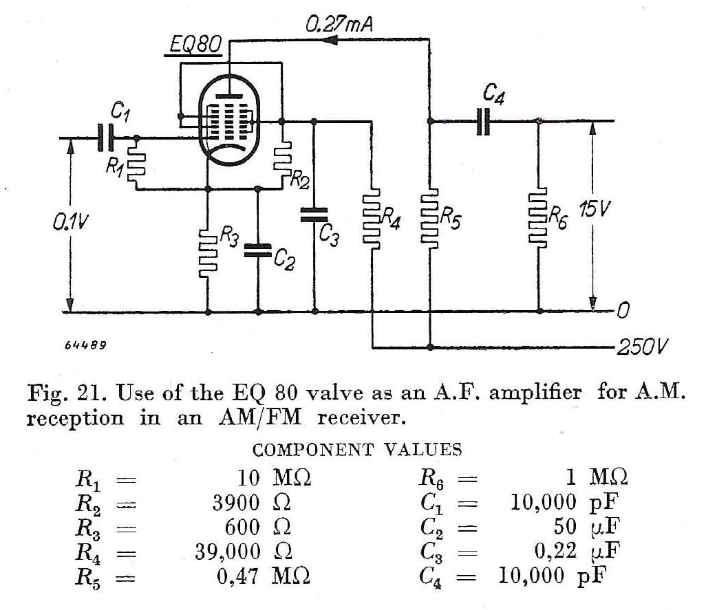 hight resolution of this is almost certainly the am fm receiver prototype in the lower centre is the ech42 rf valve then to the right two ef42 s and in the back first the