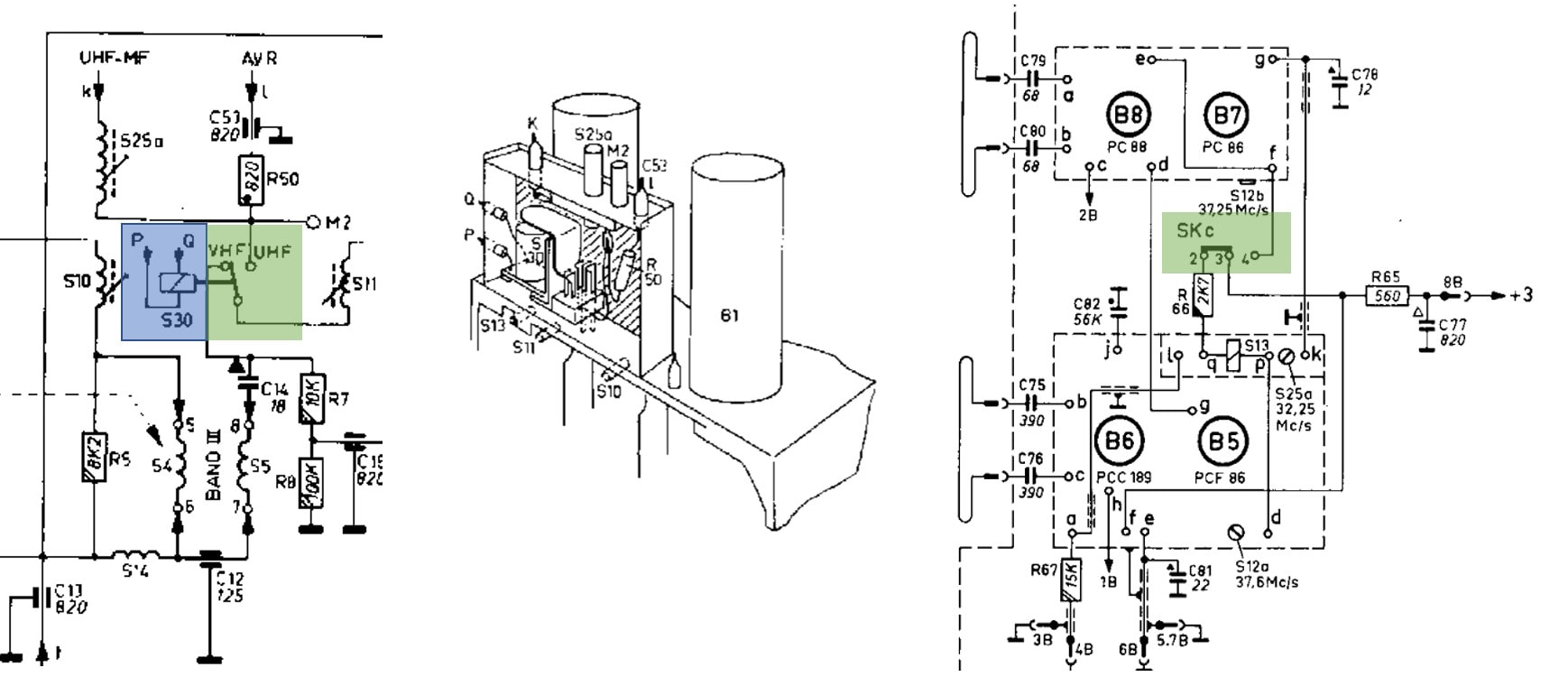 TV Tuner History pt2: UHF and transistors