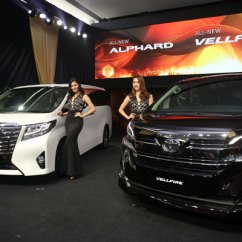 All New Alphard Vs Vellfire Toyota Yaris Trd Sportivo Cvt Launched In Toyotalaunch2