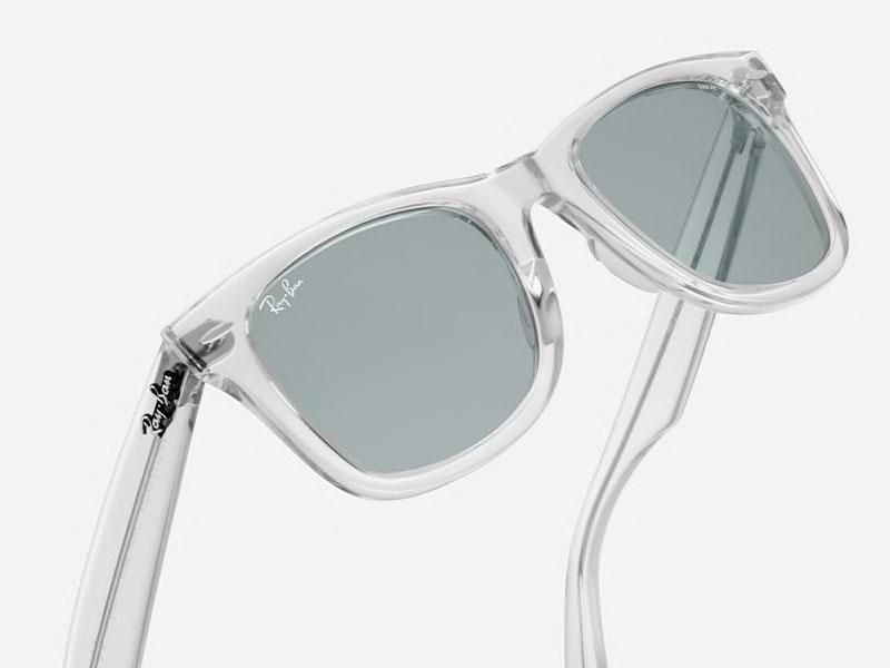 برمودا الكالسيوم مع الوقت lunette transparente ray ban