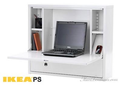 Ikea Ps Meuble Pour Ordinateur Portable Maxitendance