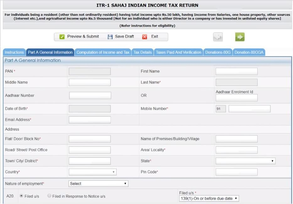 ITR Efiling – How to File ITR. Income Tax Efiling Login. Income Tax Efiling Online