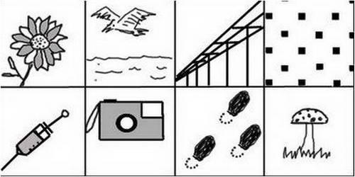 Contoh Gambar Wartegg test