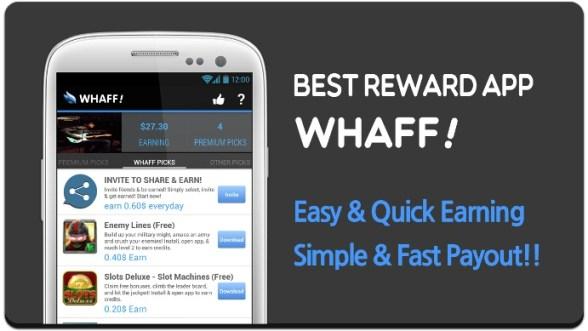 Cara Mendapatkan Uang dari Whaff Rewards
