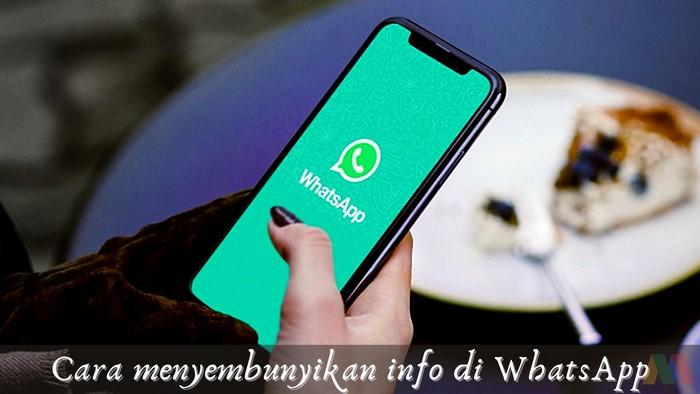 Menghilangkan Info di WhatsApp