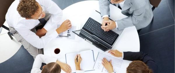 rapat bisnis