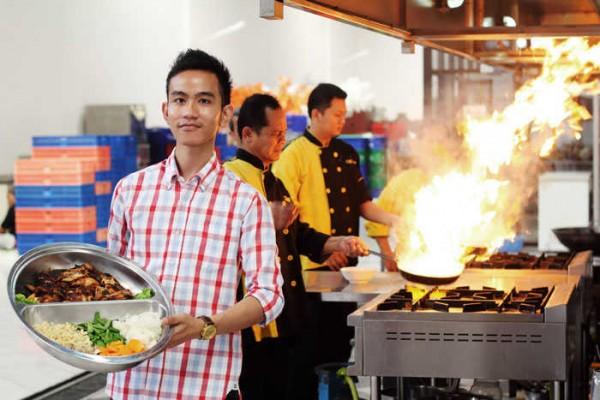 Gibran Rakabuming bisnis katering