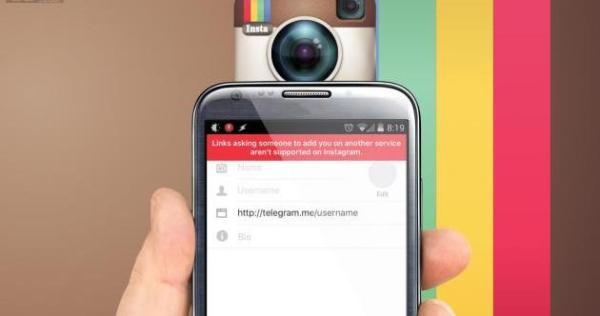 Instagram blokir Telegram dan Snapchat