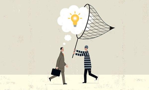 mencuri ide kreatif