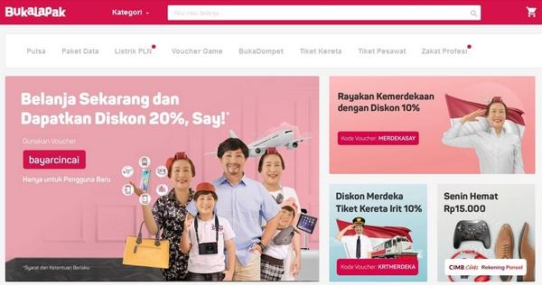Situs Marketplace Online Bukalapak.com