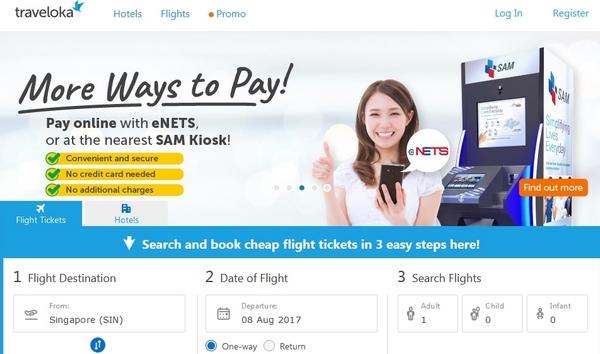 Situs Toko Online Tiket Traveloka.com