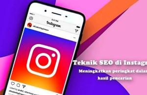 Teknik SEO di Instagram