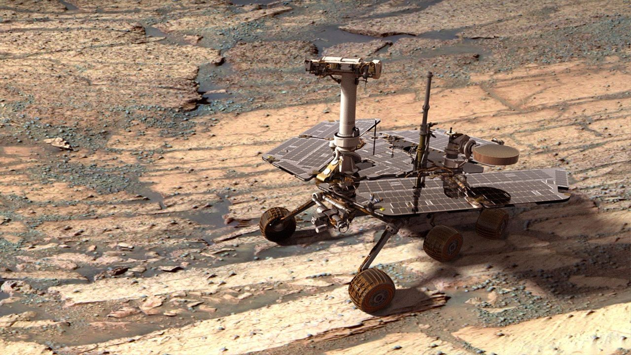 hight resolution of opportunity celebrates 10 years on mars