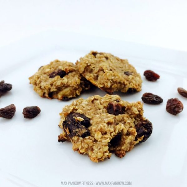 Healthy Oatmeal Raisin Cookies 3