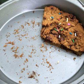 Vegan Cookie Cake Thumbnail