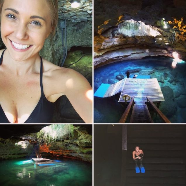 Explore Devils Den, an underwater cave in Gainesville, FL.