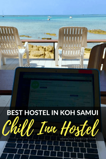 Relax at the amazing Chill Inn, the best hostel in Koh Samui