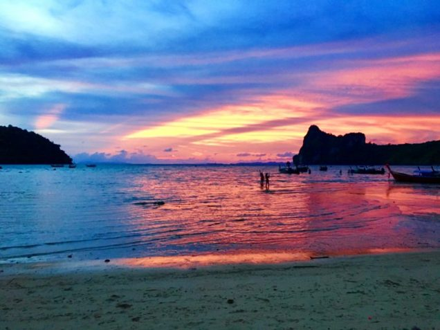 Sunset on Koh Phi Phi