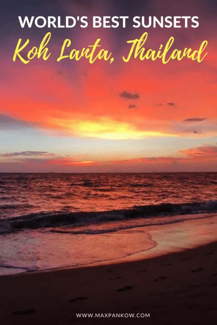 worlds best sunsets in koh lanta thailand (2)