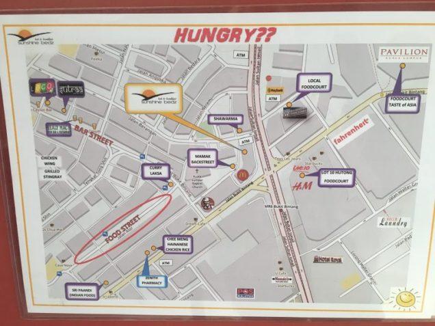 Map from Sunshine Bedz