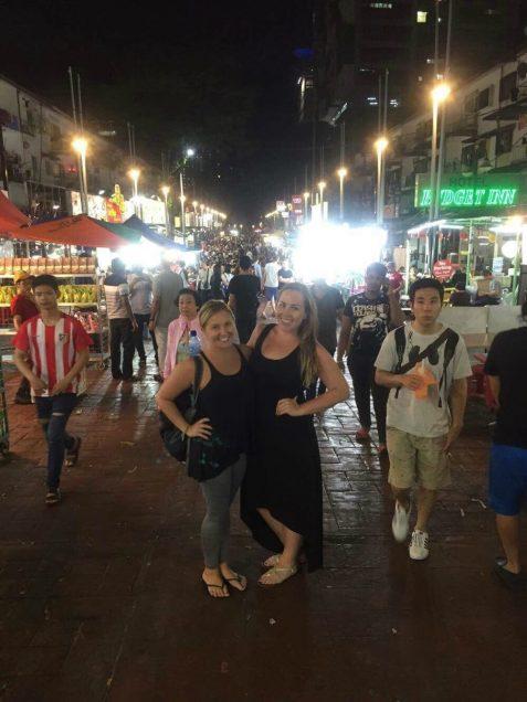 Catherine in Kuala Lumpur