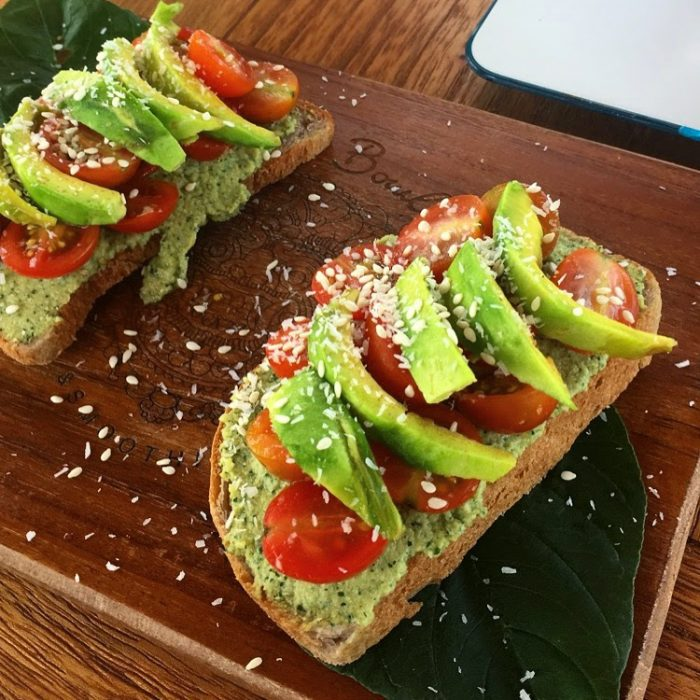 Canggu Avocado Toast at Bali Bowls