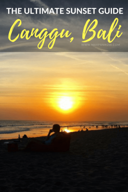 Find out the best sunset spots in Canggu, Bali on the blog!