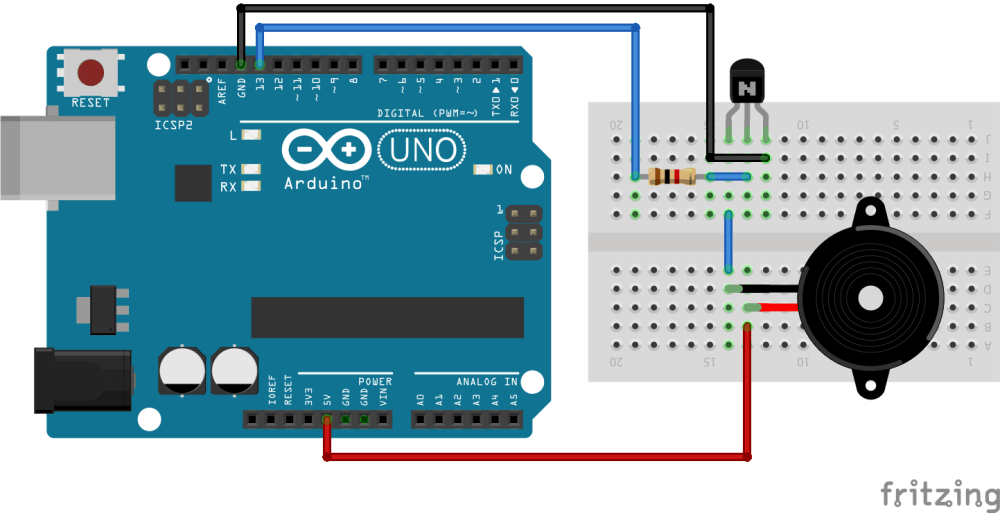 medium resolution of arduino buzzer tutorial and how to use it with arduino board