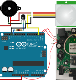 gsm based home security system project using arduino pir sensor [ 1420 x 1018 Pixel ]