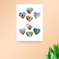 "20x30"" Heart Collage Canvas - Canvas Print Templates ..."
