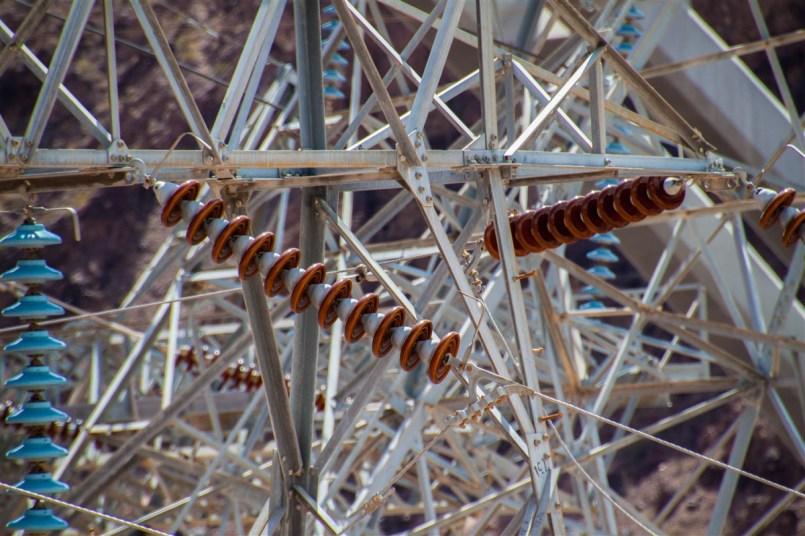 Electriciteitskabels Hooverdam