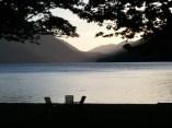 Dag 27 met onderwerp Dierbaar. Titel: Lake Crescent, een dierbare herinnering.