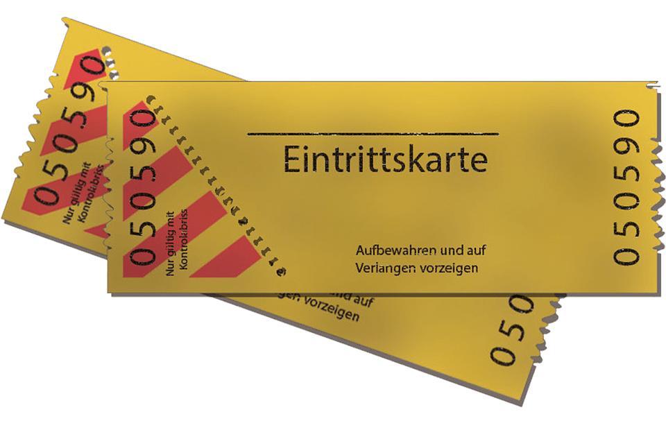 free photo admission ticket