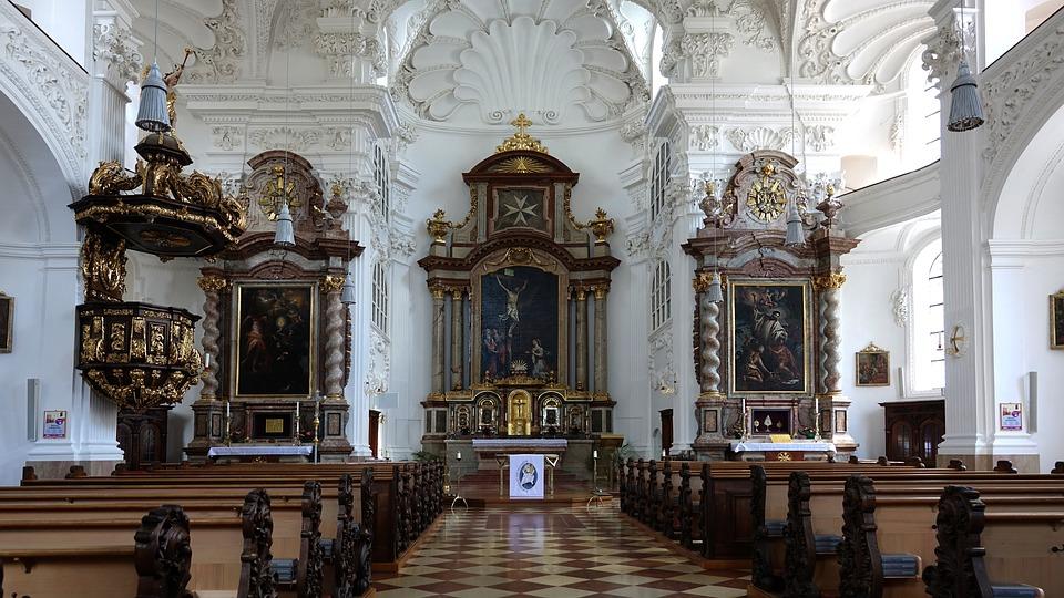 free photo altötting church