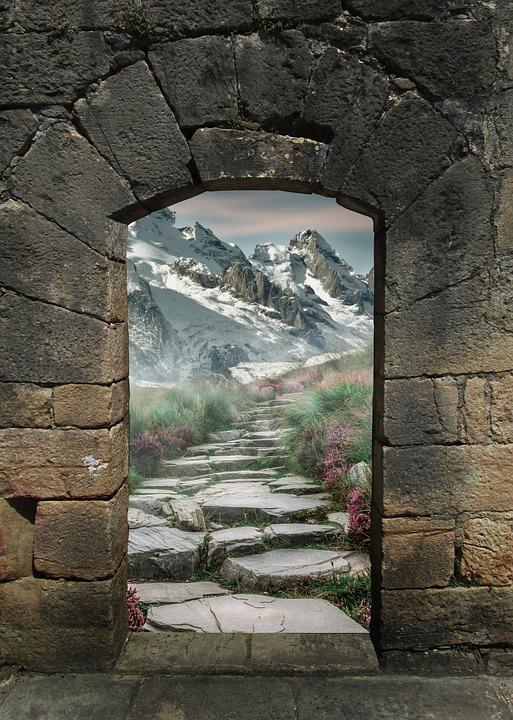 Free photo Arch Architecture Art Gate Fantasy Portal Magic  Max Pixel