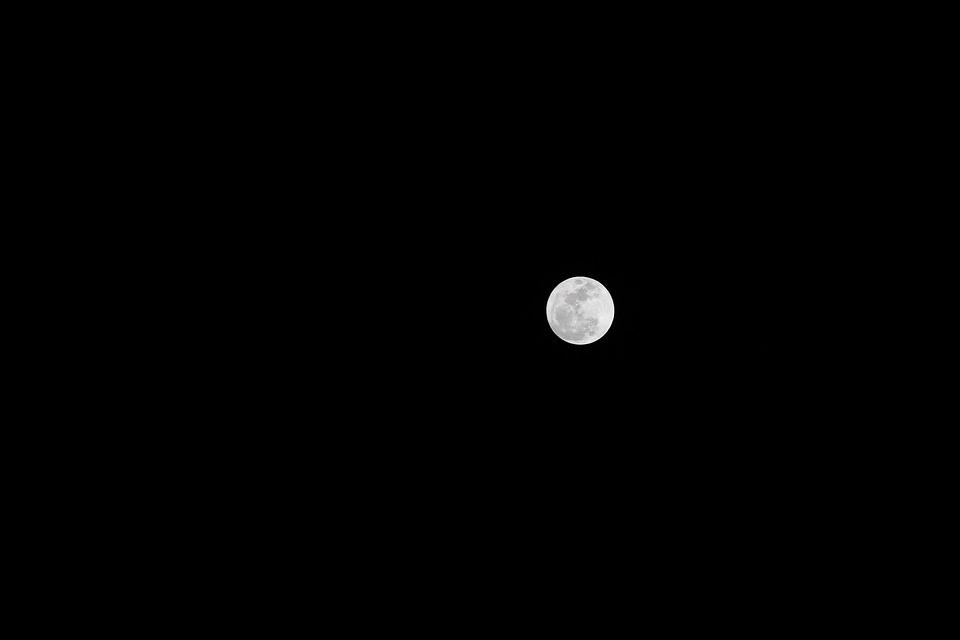 free photo astronomy moon