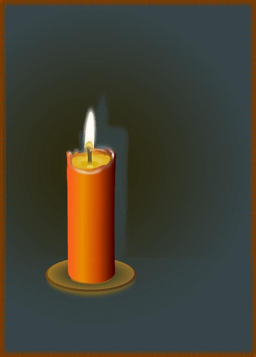 Blue Wallpaper Hd Download Free Photo Candle Flame Glow Shine Light Romance Wax Fire