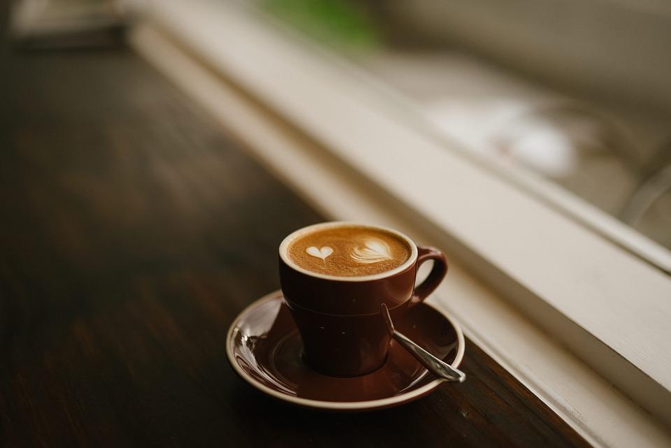 free photo cappuccino mug