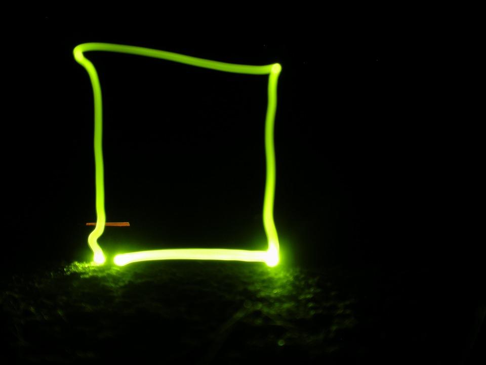 Black White Square Wallpaper Free Photo Color Bright Shape Light Green Neon Square