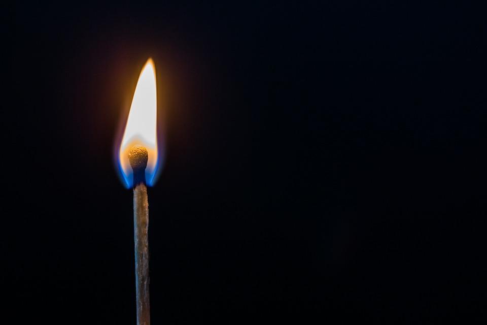 free photo fire matches